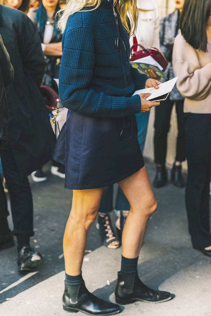 The #1 Item to Wear With Skirts This Season