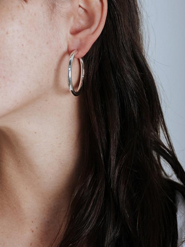Holly Ryan Tube Hoop Earrings