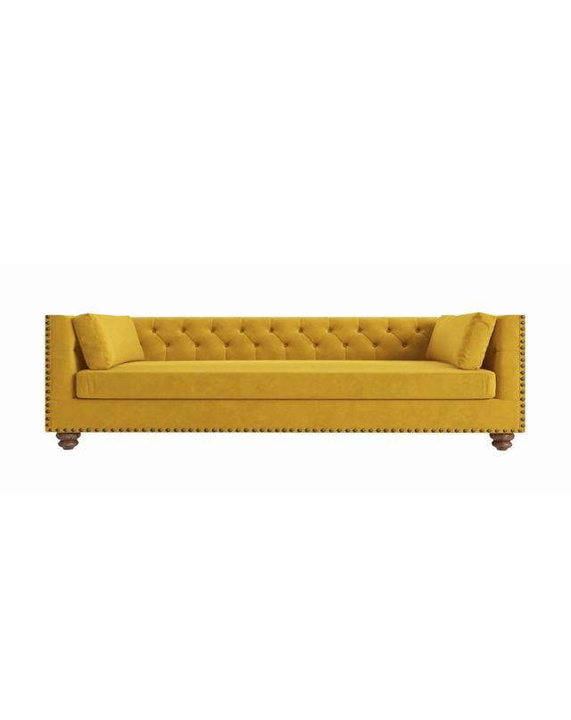 Brosa Florence Velvet Chesterfield 3 Seater Sofa
