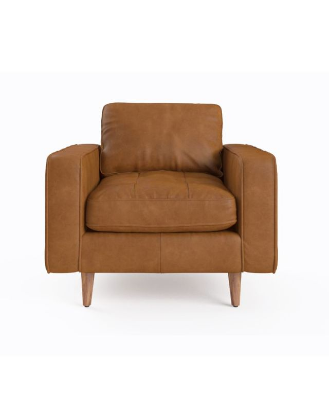 Brosa Sargent Leather Armchair
