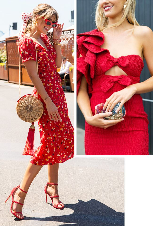 45c945ffec What to Wear With a Red Dress | Who What Wear