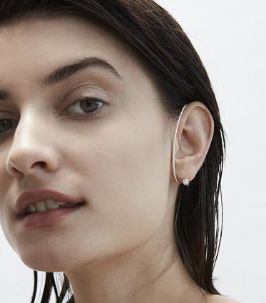 KatKim Arena Diamond Ear Cuff