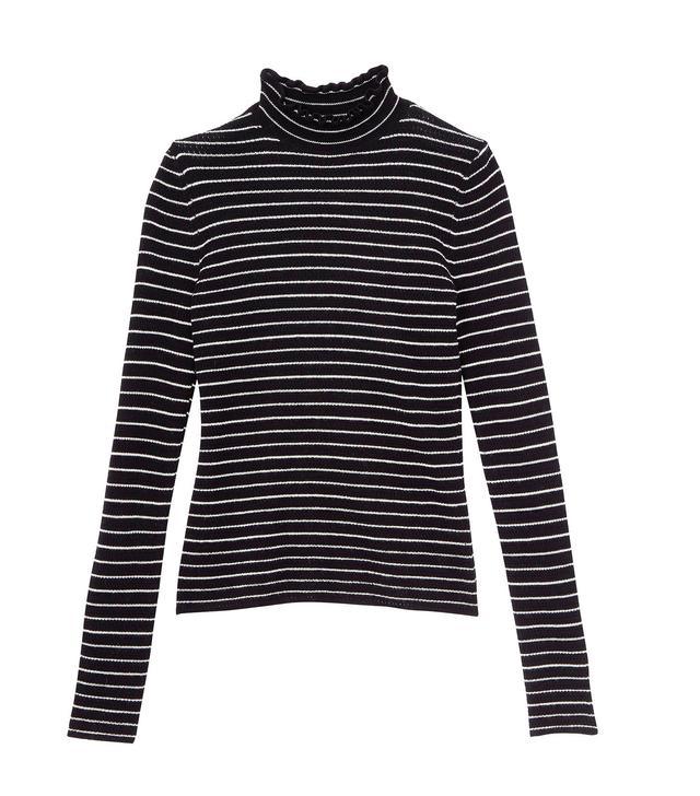 Rebecca Taylor Merino Wool Turtleneck Pullover