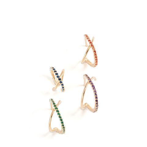Crisscross Earring Set