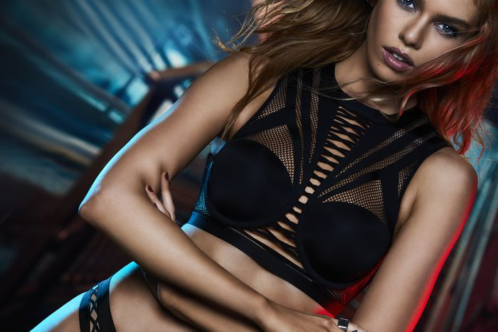 4624275f275 Now, Your First Look at Victoria's Secret x Balmain   Who What Wear