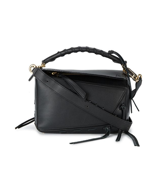 Loewe Small Puzzle Laced Shoulder Bag