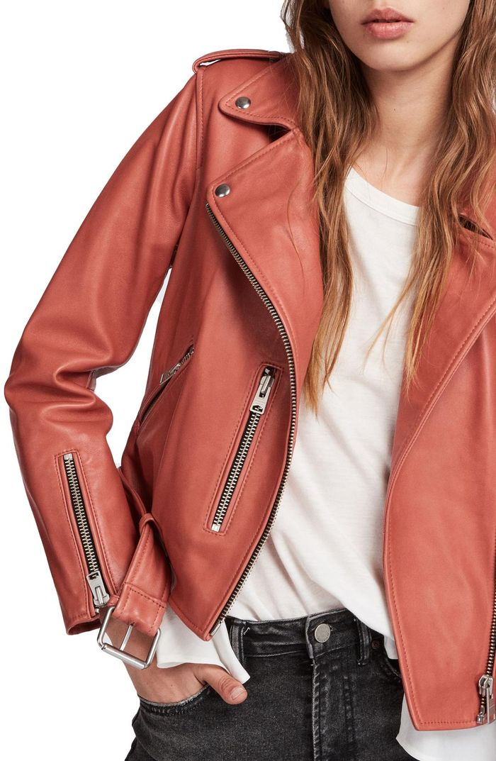 f7aeac7b8 13 Cute Leather Jackets That Aren't Black | Who What Wear