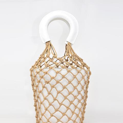 Moreau Bucket Bag White
