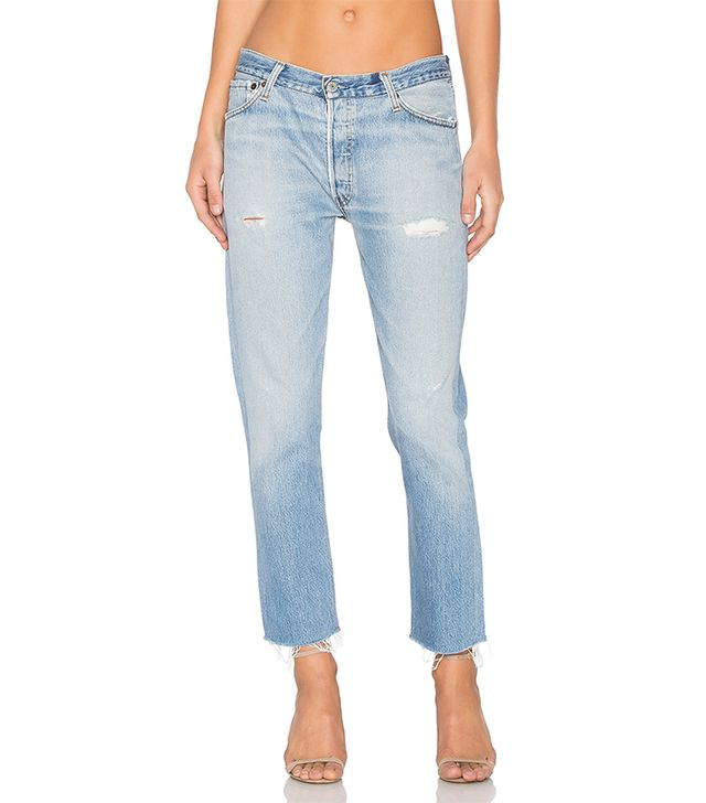 Levis Relaxed Crop