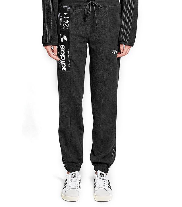 Adidas x Alexander Wang Logo Fleece Sweatpants