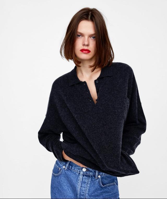Zara Limited Edition Cashmere Polo