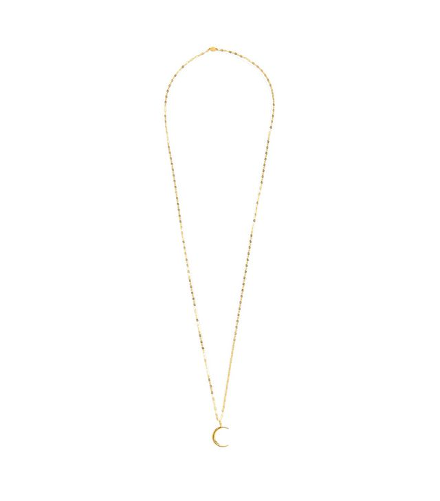 Agnes gold-plated necklace