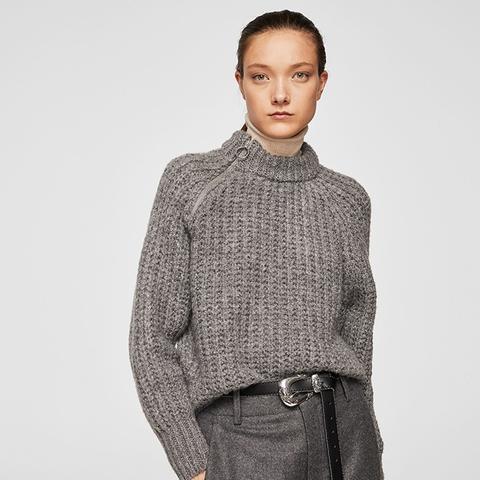 Zip Knit Sweater