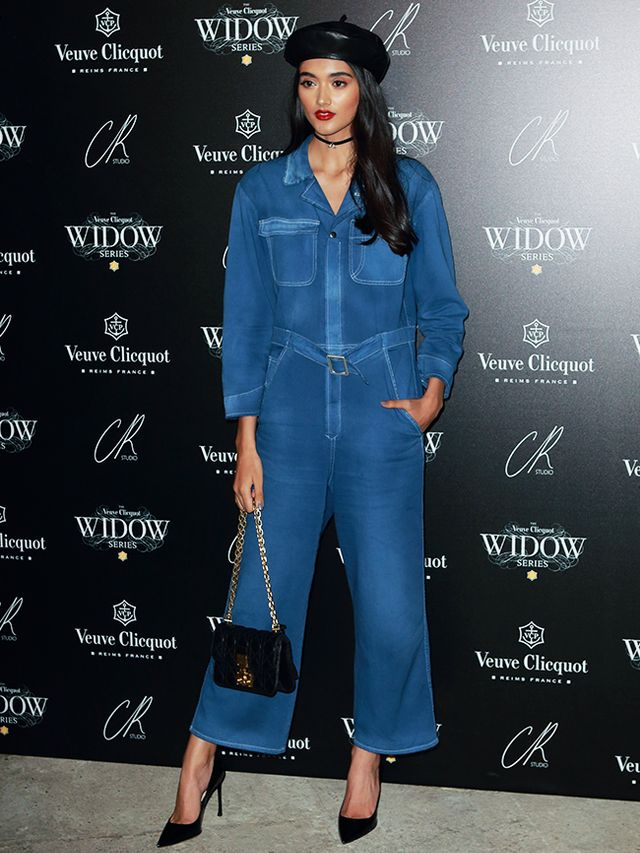 f626bc54d297 Best celebrity party outfits  Neelam Gill wearing a Dior jumpsuit