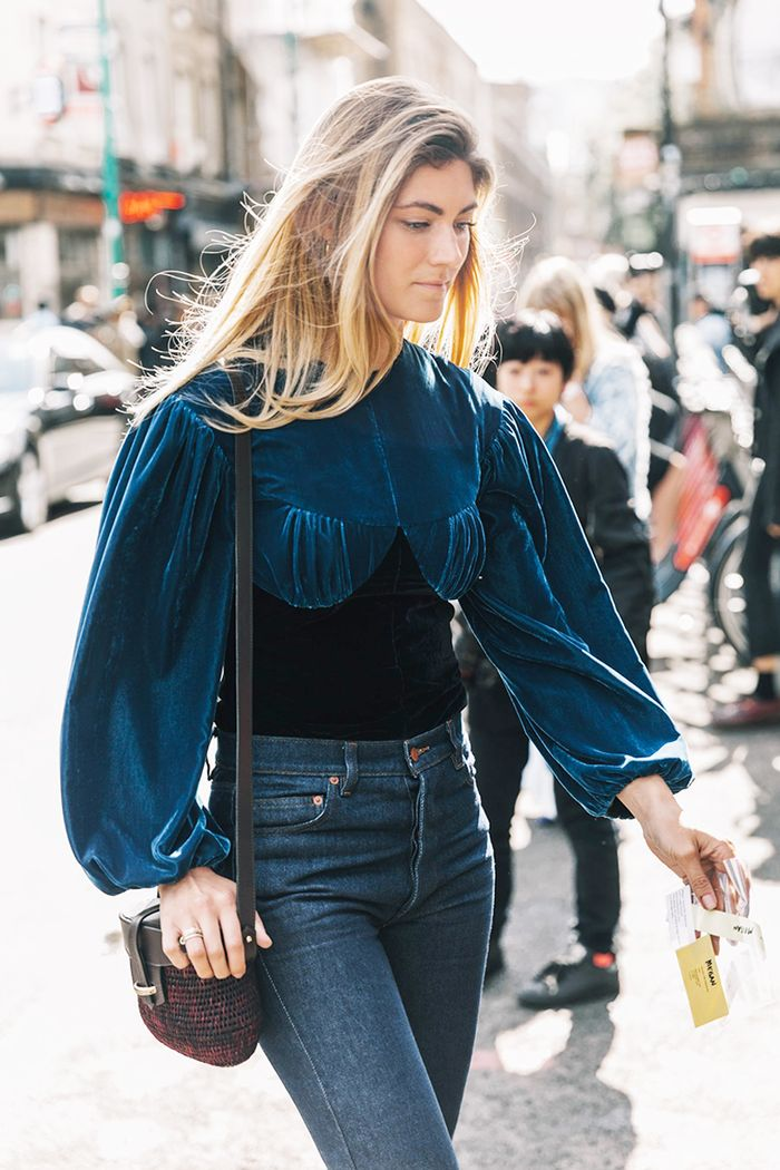 c0c84a6043 11 Black-and-Navy Outfits You Need to Try