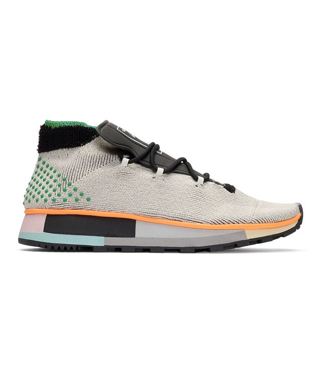 Adidas Originals by Alexander Wang Grey AW Run Mid Sneakers