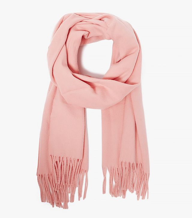 Canada Scarf in Pale Pink