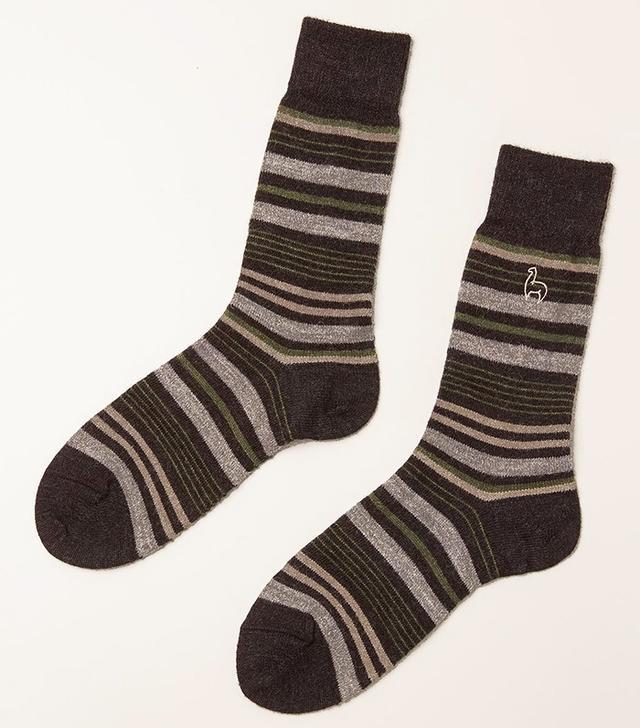 Shupaca Alpaca Stripe Socks