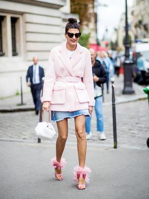 5 New Ways to Wear a Denim Skirt This Autumn