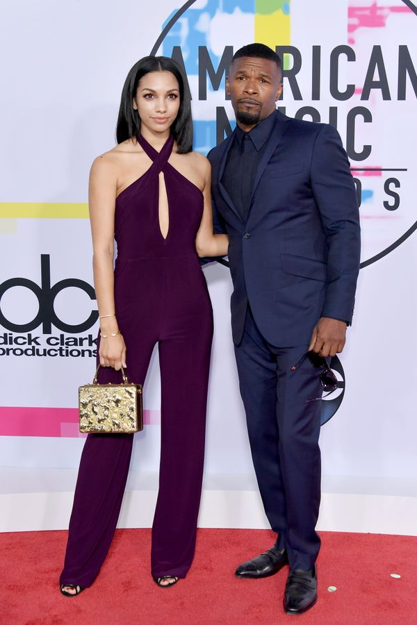 <p><strong>WHO:</strong> Corinne Foxx and Jamie Foxx</p> <p></p> <p></p>