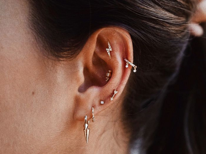Conch Piercing Everything You Need To Know Byrdie Uk