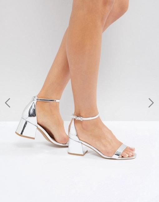 ASOS Honeydew Block Heeled Sandals