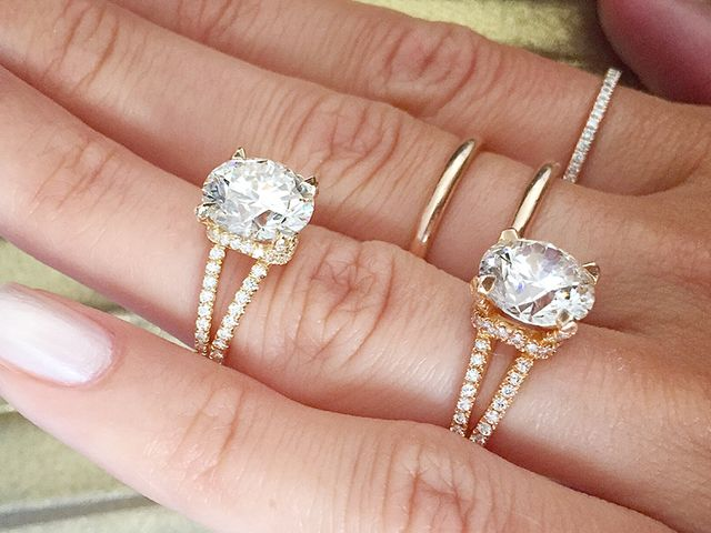The Most Popular EngagementRing Trends of 2018 Who What Wear