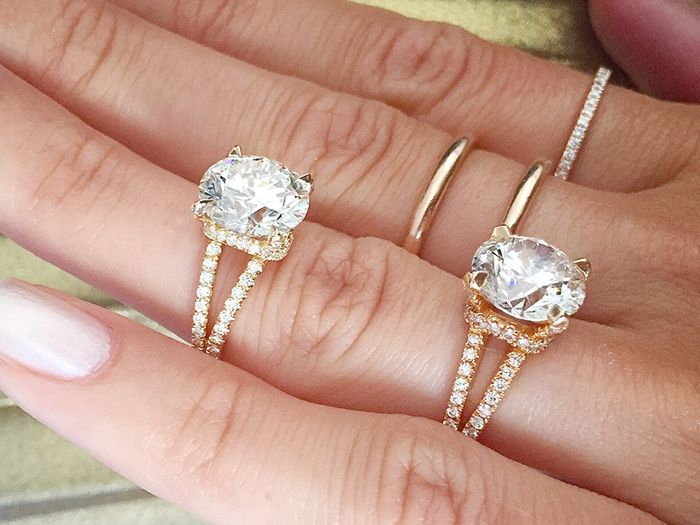 The Most Popular Engagement Ring Trends Of 2018 Who What Wear