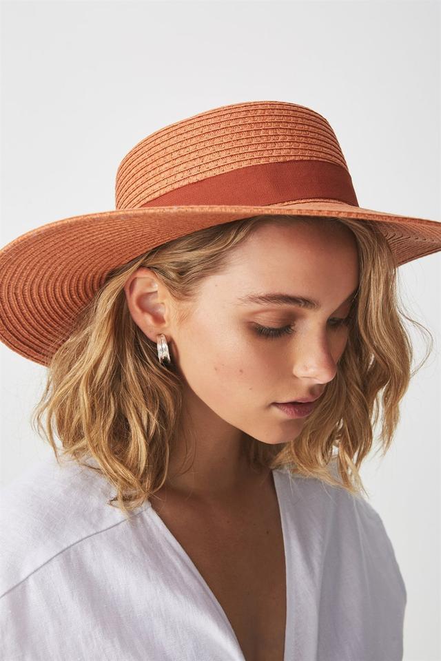 Rubi Ascot Boater Hat