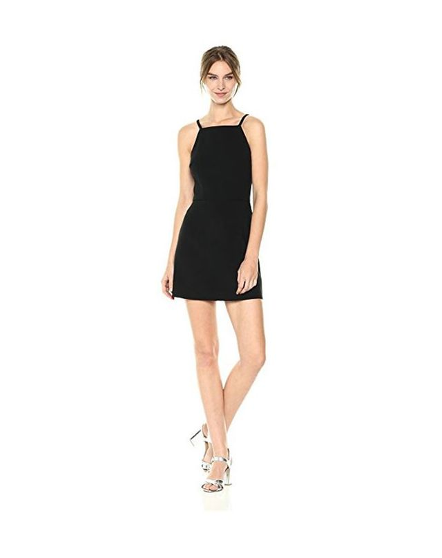 French Connection Whisper Light Sleeveless Strappy Stretch Mini Dress