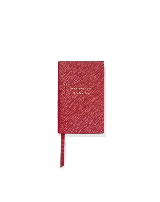 Smythson Textured Notebook