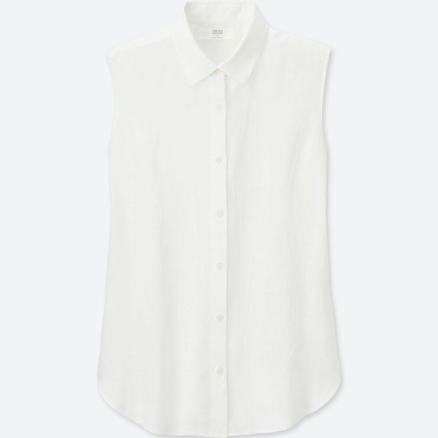 Uniqlo Women Premium Sleeveless Shirt