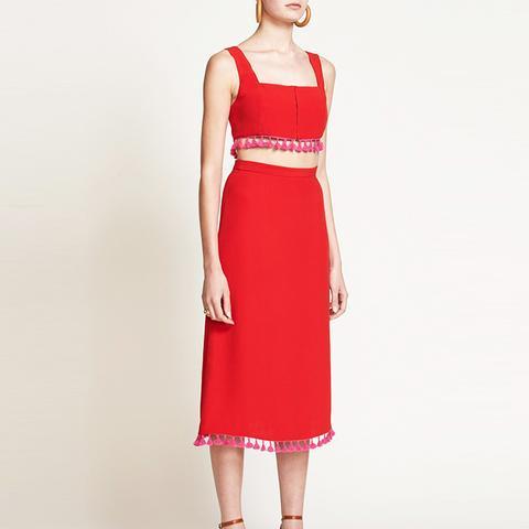 Johnny Skirt Ruby Red