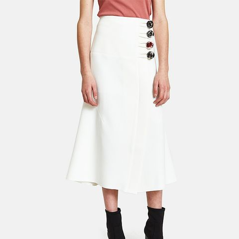 Levels Resin Button Skirt