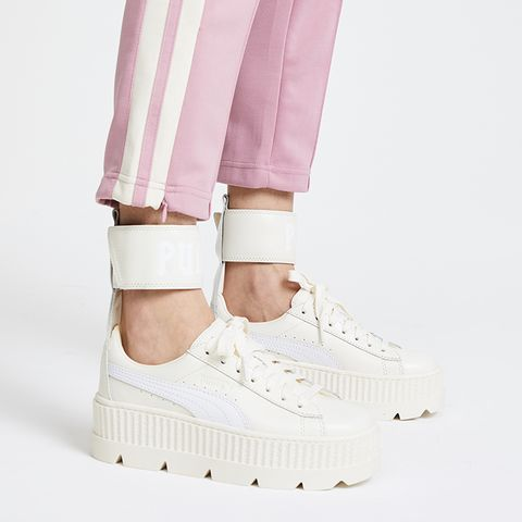 Ankle Strap Sneakers