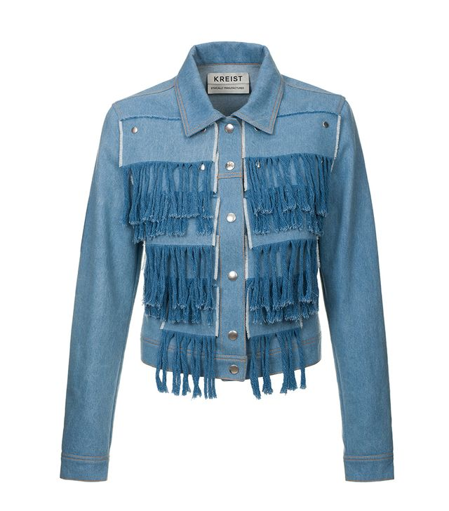 Kreist Fringed Denim Jacket