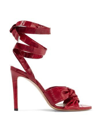 Altuzarra Zuni Knotted Heel Sandals