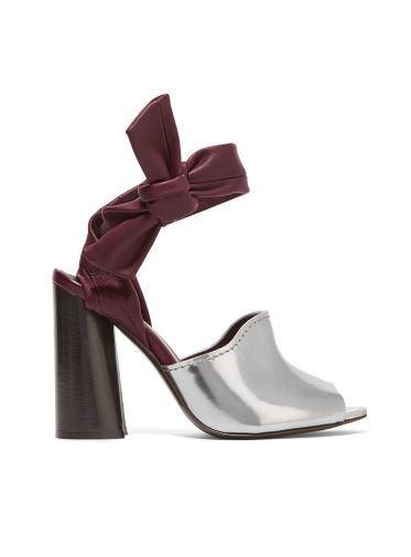 3.1 Phillip Lim Kyoto Metallic Leather Sandals