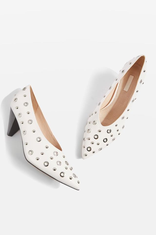 Topshop Joyous Mid Heel Shoes
