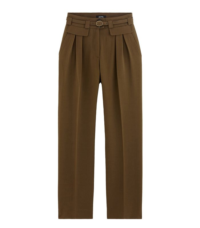 f0ea8fb34e2 It s Time to Try High-Waisted Pleated Pants for the Office