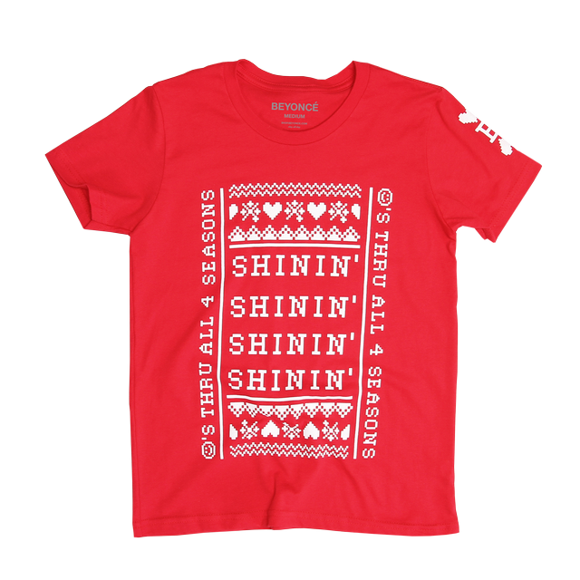 Beyoncé Shinin' Ugly Sweater Youth T-Shirt