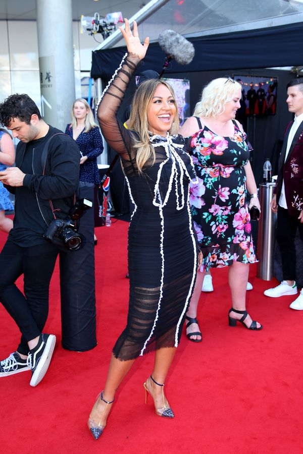 <p><strong>WHO:</strong>Jessica Mauboy</p>