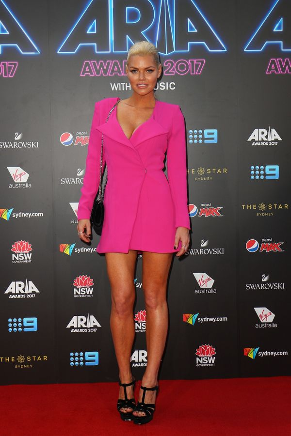 <p><strong>WHO:</strong> Sophie Monk</p>