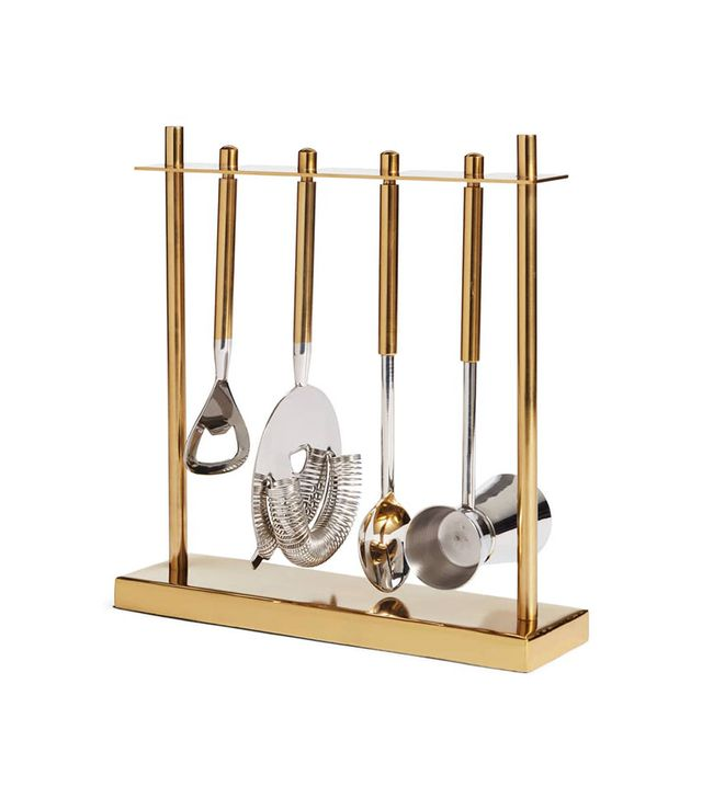 Nordstrom at Home 5-Piece Stainless Steel Bar Tool Set