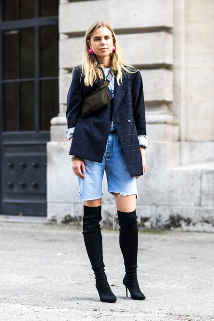 fine outfits with tall boots dress