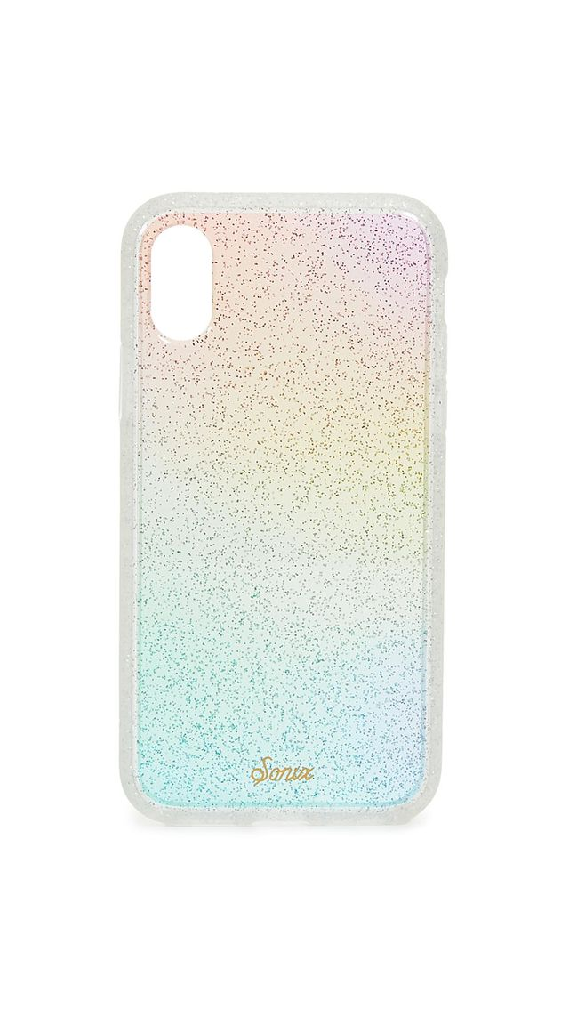 Rainbow Glitter iPhone XS / X Case