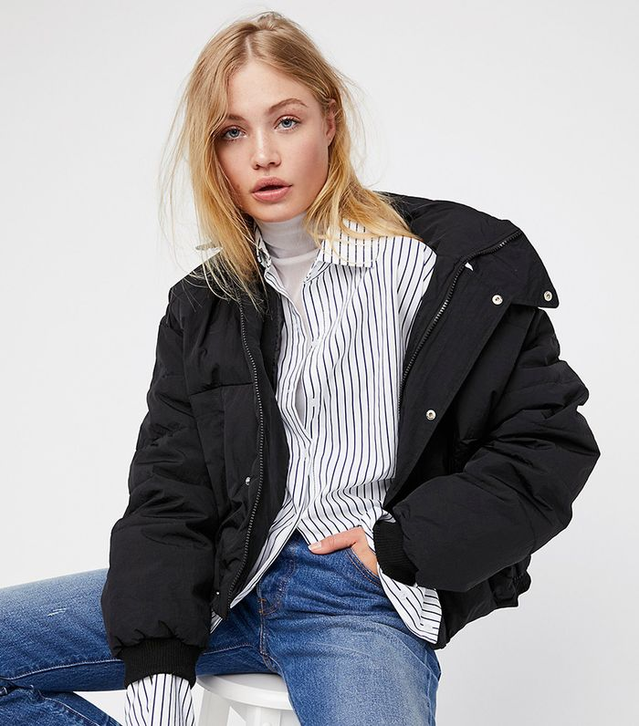 The Cool Jacket To Wear Over Dresses Who What Wear