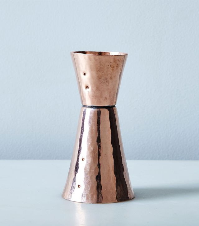 Sertado Copper Hammered Copper Double-Sided Jigger