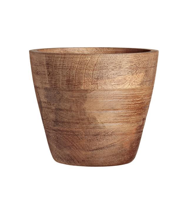 H&M Home Wooden Plant Pot