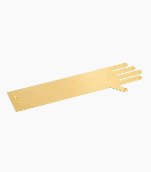 Poketo Brass Bookmark in Hand